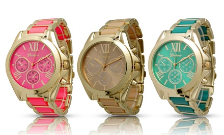 Geneva Women's 2-Tone Watch