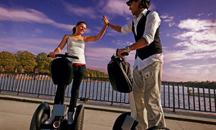 Segway Tours of Houston - Downtown: Two-Hour Twilight Bat-Watching Segway Tour for Two or Four from Segway Tours of Houston (Half Off)