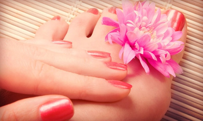 Pink Blush Boutique and Nail Spa - Ridgeland: One or Two Mani-Pedis at Pink Blush Boutique and Nail Spa (Up to 62% Off)