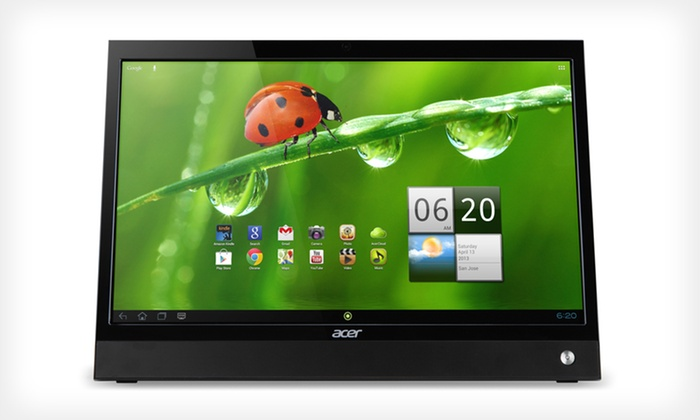 """Acer 21.5"""" 3D Touchscreen Monitor Bundle: $279.99 for Acer 3D Touchscreen Monitor Bundle (Manufacturer Refurbished) ($399.99 List Price). Free Shipping & Returns."""