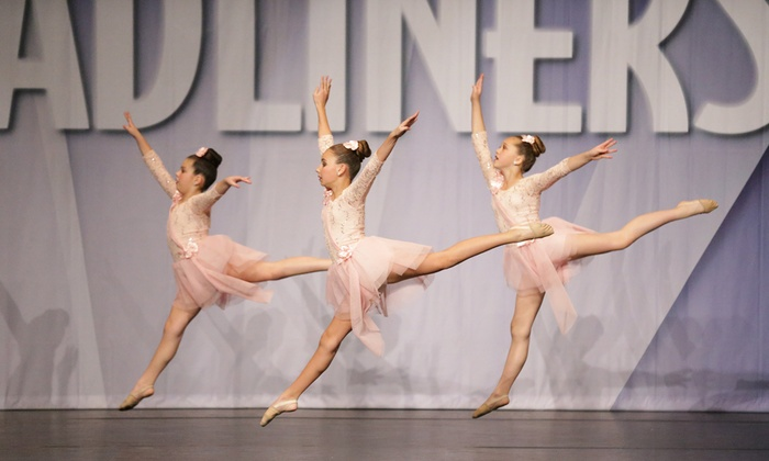 Precision Dance Center - Roseville: Four Dance Classes from Precision Dance Center (65% Off)