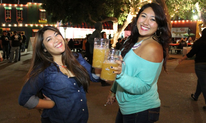 Fairplex - Fairplex - Gate 9 or 17: $32 for Oktoberfest 2014 at Fairplex with 32-Oz. Beer Steins for Two ($50 Value)