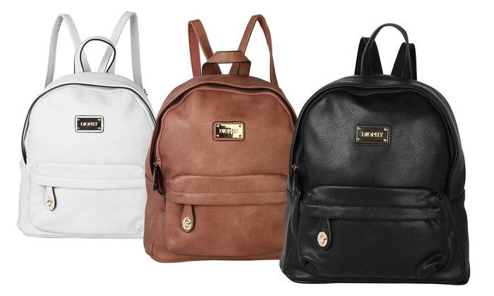 Diophy Women's Leather Backpack | Groupon Goods