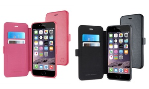 Gearfolio Faux Leather Folio Case And Screen Protector For Iphone 6/6 Plus From $8.99–$9.99