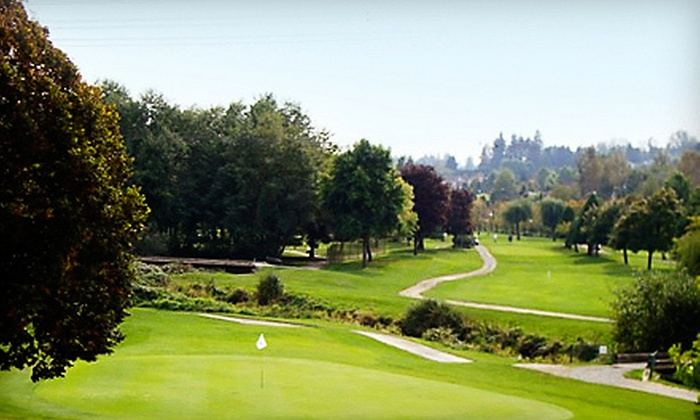 Eaglequest Coyote Creek Golf Course - Eaglequest Golf at Coyote Creek: Golf for Two or Four with Carts, Range Balls, and Meals at Eaglequest Coyote Creek Golf Course (Up to 59% Off)
