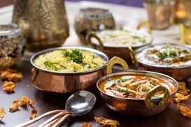 Nizam Indian Cuisine: 15% Off Entree with Purchase of Lunch or Combination Dinner at Nizam Indian Cuisine