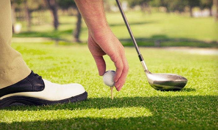 The Golf Village - Pineville: 5 or 10 Nine-Hole Rounds of Par 3 Golf at The Golf Village (Up to 61% Off)