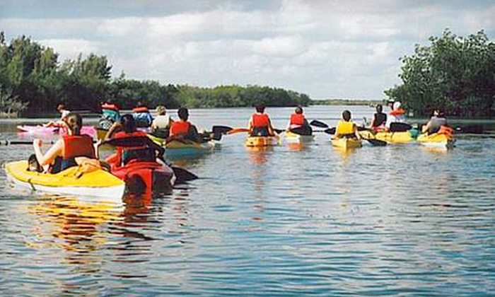 Adventure Kayak of Cocoa Beach - Cocoa Beach: $15 for a Guided Kayak Eco-Tour from Adventure Kayak of Cocoa Beach (Up to $30 Value)