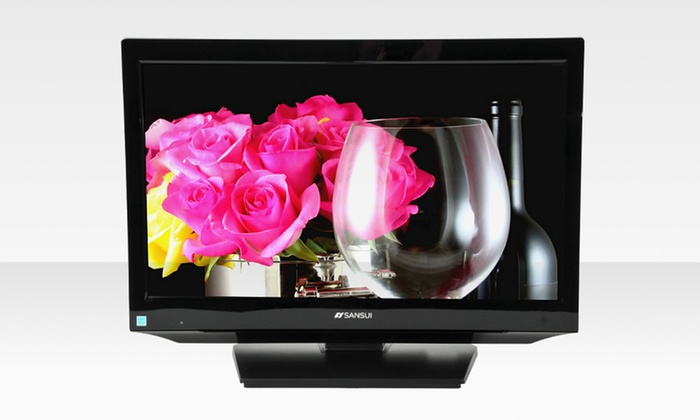 """Sansui HDLCD185W 19"""" 720p LCD TV: $79.99 for a Sansui HDLCD185W 19"""" 720p LCD TV (Manufacturer Refurbished) ($128 List Price). Free Shipping and Returns."""