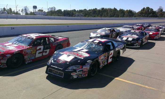 Rusty Wallace Racing Experience - Wall Stadium: Stock Car Racing Experience or Ride-Along at Rusty Wallace Racing Experience (Up to 55% Off)