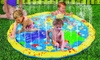 Kiddie Sprinkler Ring Play Mat: Kiddie Sprinkler Ring Play Mat