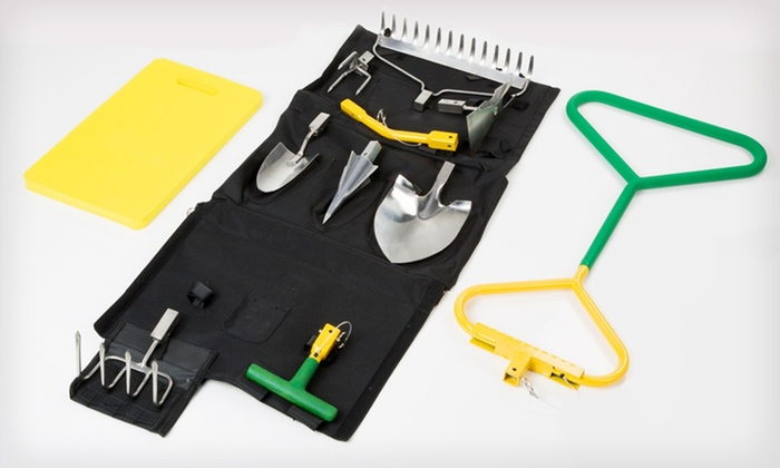 Compostable Bags or Perfect Garden Tool Deluxe Set: dsolv Compostable Lawn Bags or Perfect Garden Tool Deluxe Set (Up to 56% Off). Free Shipping on Orders of $15 or More.
