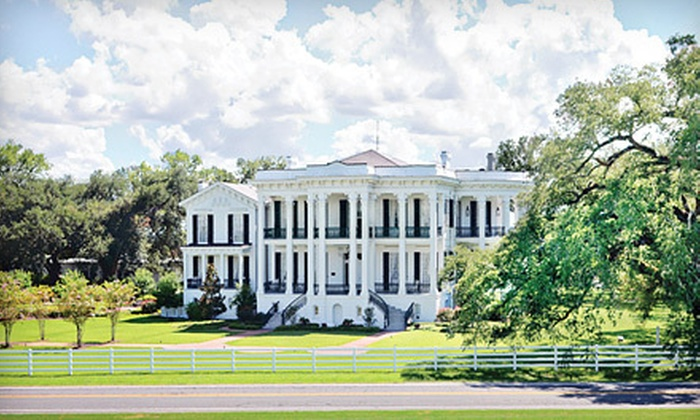 Nottoway Plantation & Resort - 3: $20 for a Guided Tour for Two at Nottoway Plantation & Resort in White Castle (Up to $40 Value)
