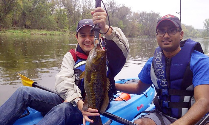 Nomad Adventure Company - Multiple Locations: Half-Day Kayak Fishing Trip for Two or Three, or Overnight Trip for Two from Nomad Adventures (Up to 60% Off)