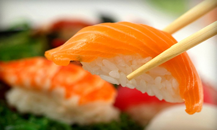 Tokyo Sushi - Multiple Locations: $20 for $40 Worth of Sushi and Hibachi Cuisine for Dinner at Tokyo Sushi