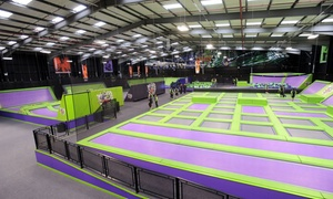 Jump Giants: Trampoline Park Access: One or Two Hours for Up to Four at Jump Giants (Up to 45% Off)