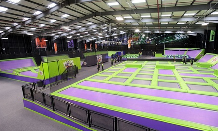 One- or Two-Hour Trampoline Park Access for Up to Four at Jump Giants, Loughborough