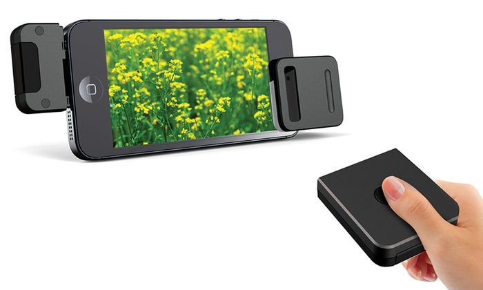 Eyeclick Shutter Camera Remote for iPhones and iPads: Eyeclick Shutter Camera Remote with Tripod for iPhones and iPads. Free Returns.