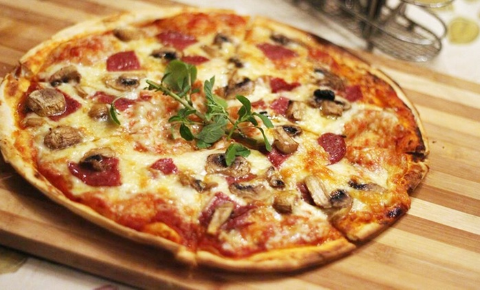 Classic Pizza and Dessert from R119 for Two at Enchanted Pizza and Pasta (Up to 49% Off)