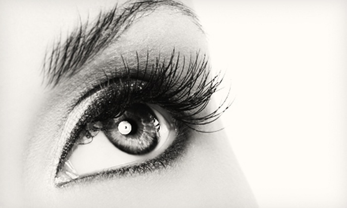 Heaven & Hannah Beauty Lounge - Edenvale: Full Set of Synthetic or Mink Eyelash Extensions at Heaven & Hannah Beauty Lounge (Up to 61% Off)