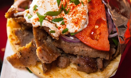 $11 for $20 Worth of Gyros and Appetizers at Mars Bar