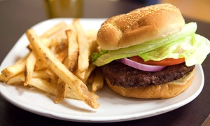 Flaco's Burgers & Tacos: Burger Combo for Two, Breakfast Plate for Two, or Taco Plate for Two at Flaco's Burgers & Tacos (Up to 62% Off)
