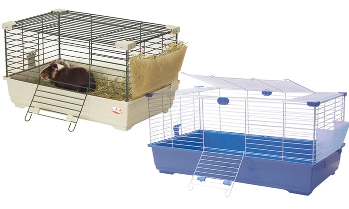 Marchioro Small-Animal Cage with Hay Feeder: Marchioro Small-Animal Cage with Hay Feeder. Multiple Colors Available. Free Returns.