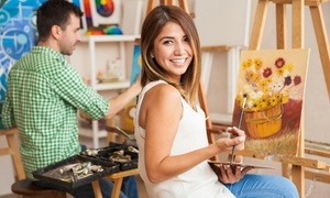 PAINT and CELEBRATE: 90-Minute Painting Class for One, Two, or Four at Paint and Celebrate (Up to 47% Off)
