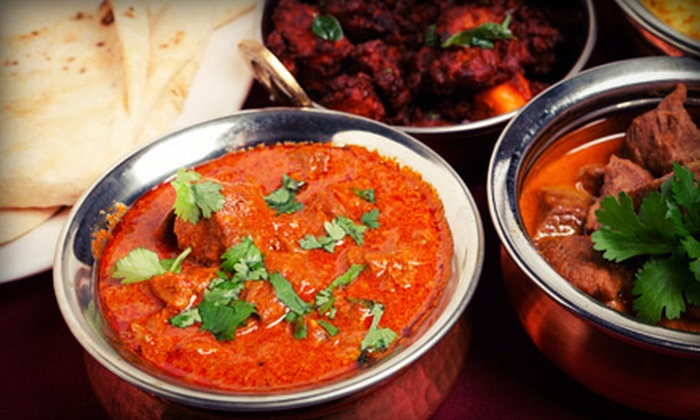 Shalimar Fine Indian Cuisine - Green Hills: Indian Dinner or Lunch at Shalimar Fine Indian Cuisine (Up to 52% Off). Three Options Available.