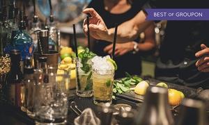 Balance Bar - Hilton Dresden: 3-Gänge-Liquid-Dinner oder 3 Cocktails nach Wahl für 1, 2 od. 4 Pers. in der Balance Bar – Hilton Dresden (50% sparen*)
