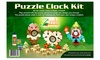 Puzzle Wood-Clock Craft Kit: Puzzle Wood-Clock Craft Kit