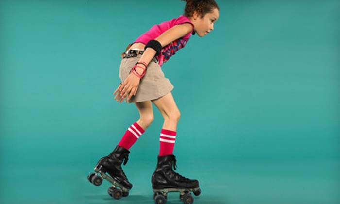 BonaVenture Family Skating Center - Farmington Hills: Roller-Skating for Two, Four, or Eight with Food at BonaVenture Family Skating Center (Up to 65% Off)