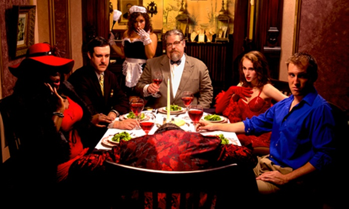 The Murder Mystery Company - Ikaros Restaurant: Dinner Show for One or Two from The Murder Mystery Company (Up to 52% Off)