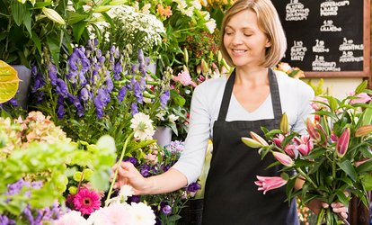 image for Floristry Online Course from News Skills Academy (72% Off)