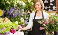 Two-Hour Beginners Floristry Lesson with Cream Tea for One or Two at Homeland Florist (Up to 52%)