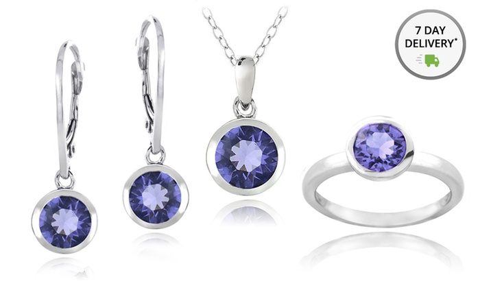 Sterling Silver Jewelry with Swarovski Elements: Sterling Silver Jewelry with Swarovski Elements. Multiple Pieces Available. Free Returns.