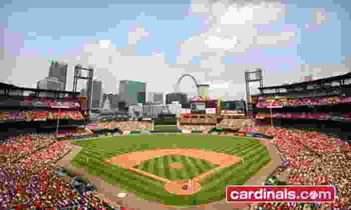 St. Louis Cardinals - Busch Stadium: $11 for a St. Louis Cardinals Game Against the Cincinnati Reds at Busch Stadium on October 1 or 2 (Up to $22 Value)