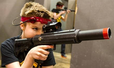 1.5 Hours of Laser-Tag for Two, Four, or Eight at CMP Tactical Lazer Tag Des Moines (Up to 55% Off)