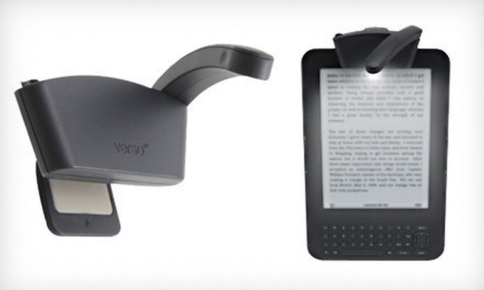 Verso Rechargeable Arc E-reader Light: $15 for a Verso USB Rechargeable Arc LED Light ($27.99 List Price)