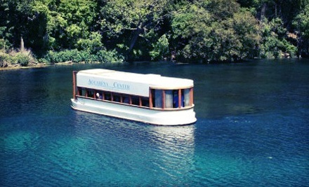 Glass-Bottomed-Boat Tour for Two, Four, or Six at Aquarena Center (Up to Half Off)