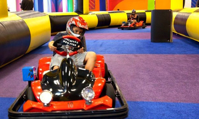 Party Fantasy - Multiple Locations: Two, Four, or Six Indoor Amusement Center Passes to Party Fantasy in Wheeling (Up to 55% Off)