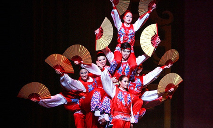 Golden Dragon Acrobats - Ives Concert Park: Golden Dragon Acrobats Show for One or Four at Ives Concert Park on Saturday, August 11, at 7:30 p.m. (Up to 57% Off)