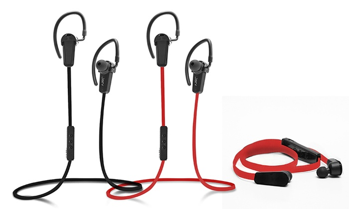 jarv bluetooth earbuds with mic groupon goods. Black Bedroom Furniture Sets. Home Design Ideas
