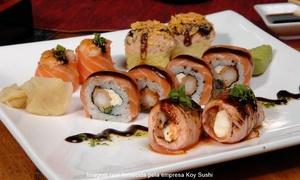 Koy Sushi: Koy Sushi – Boa Viagem: rodízio japonês e chinês para 1 ou 2 pessoas