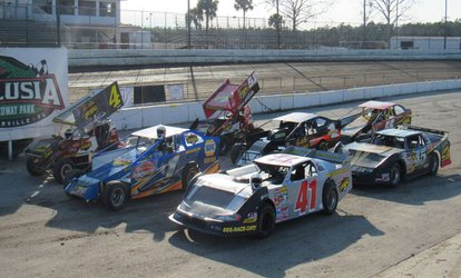 Dirt Racing Packages: 5, 10 or 15 Laps at Kenny Wallace Dirt Racing (Up to 81% Off)