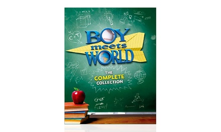 Boy Meets World The Complete Collection On Dvd Groupon