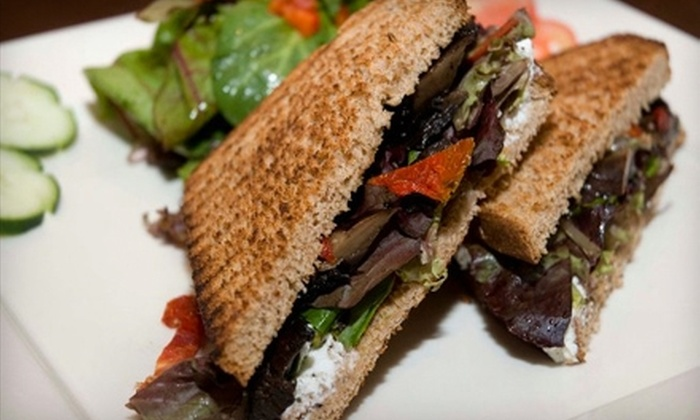 Beans and Vines - Inwood: $20 for $40 Worth of Sandwiches, Paninis, Coffee, and a Bottle of Wine at Beans and Vines in Inwood