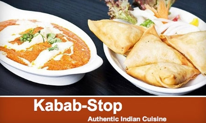 Kabab Stop - New North Roland Park - Poplar Hill: $8 for $20 Worth of Casual Indian Fare at Kabab Stop