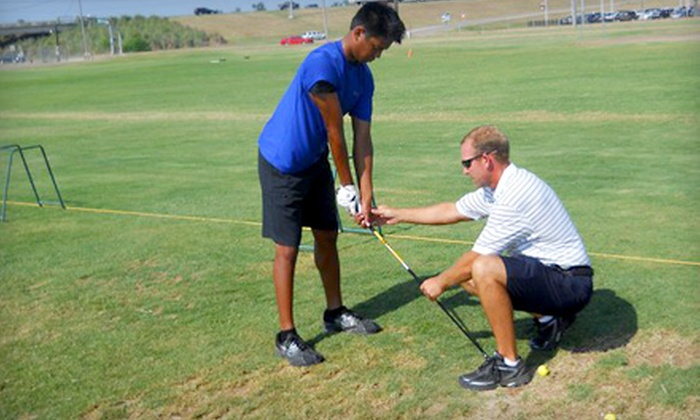 Pete Lockwood - Shreveport / Bossier: Two or Four Golf Lessons from Pete Lockwood at The Practice Tee in Bossier City (Up to 53% Off)