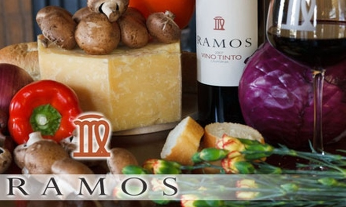 Ramos Torres Winery - Kingsburg: $10 for a Wine Tasting and Appetizers for Two at Ramos Torres Winery ($25 Value)